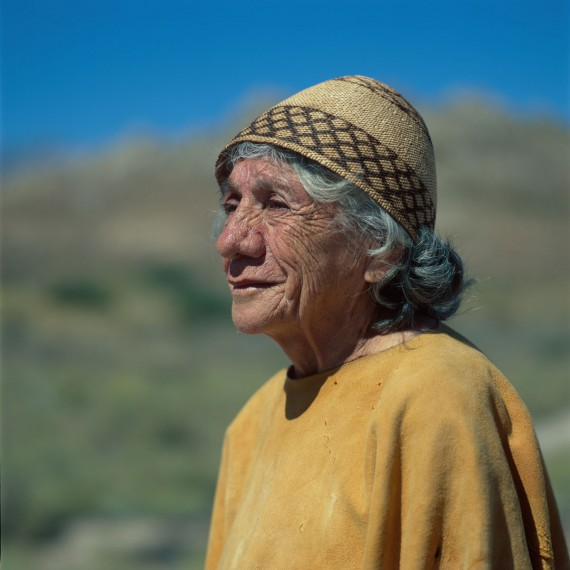 USA - Native Americans - Paiute - Shoshone - Clara from Bigpine