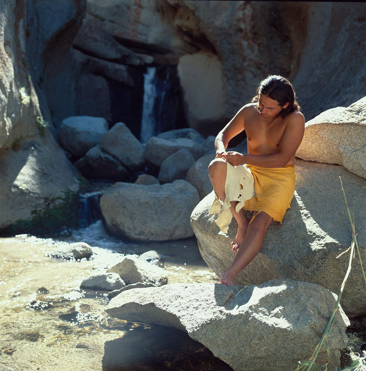 Native Americans - Paiute - Shoshone - Flinting