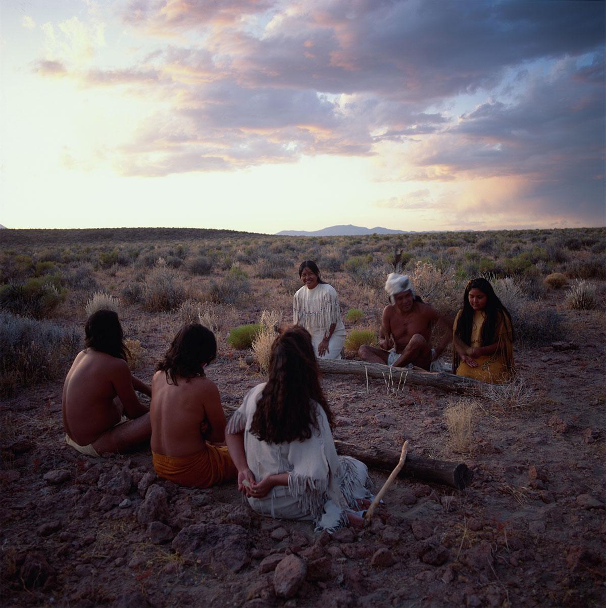 Native Americans - Paiute - Shoshone - Handgame