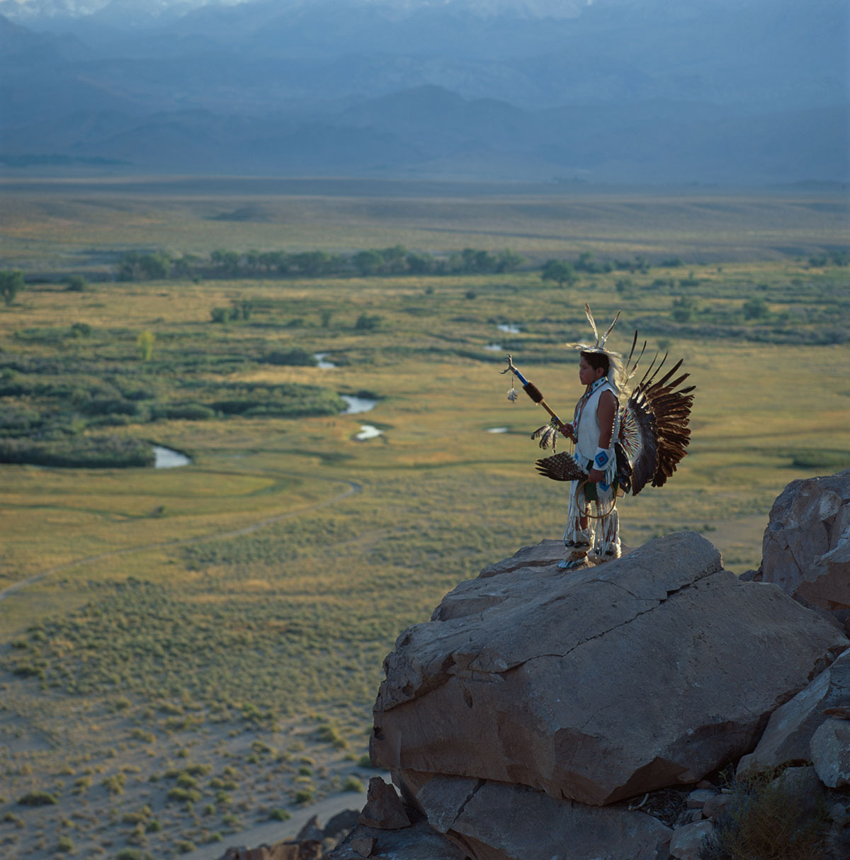 Native Americans - Paiute - Shoshone boy