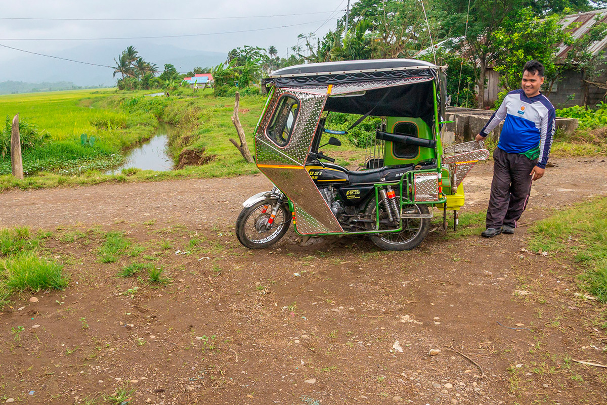 Tricycle in Philippines