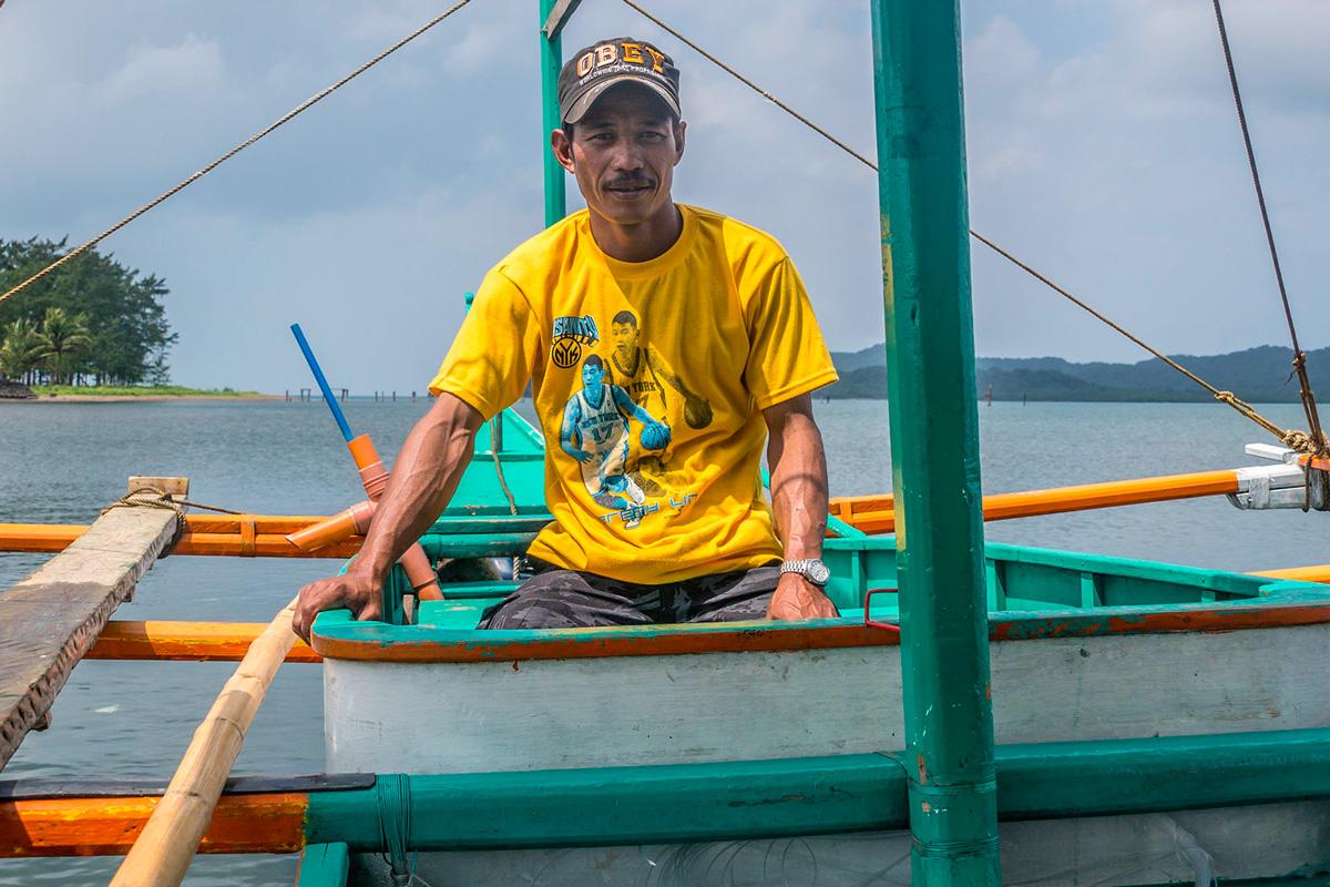 Philippines - Calayan, Cagayan islands - boat ride