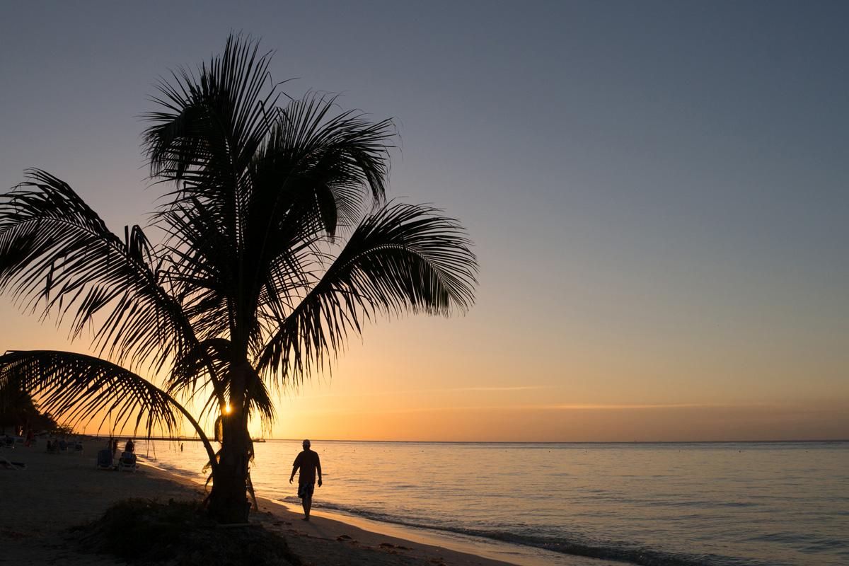 Mexico, Cozumel, Sunset