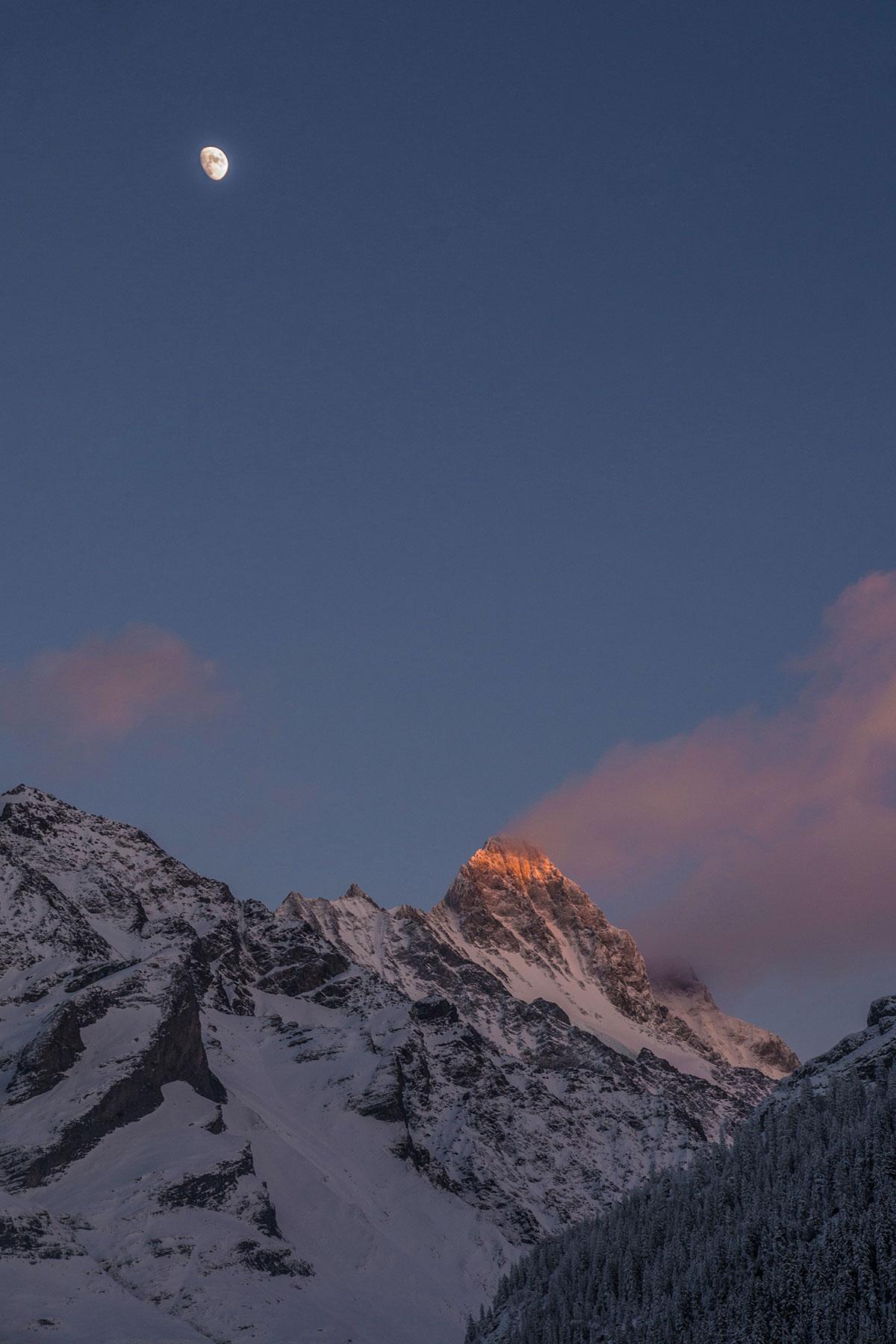 Schreckhorn über Grindelwald