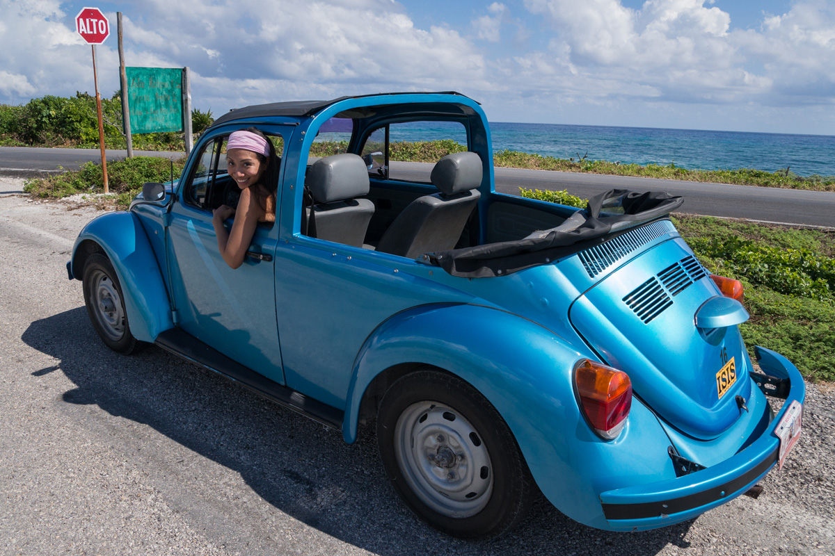 Mexico, Cozumel, VW Käfer, VW Beetle