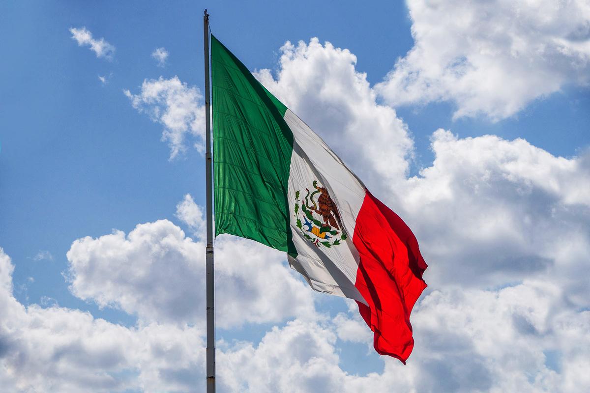 Mexico, Cozumel, Fahne, Flagge, Flag