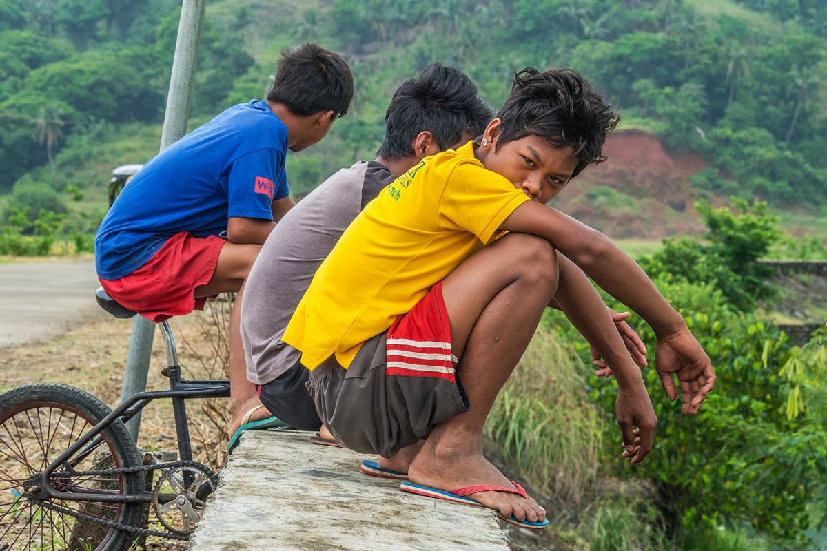 Philippines - Santa Ana - kids