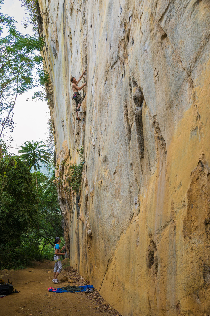 Cantabaco, Cebu, Philippines - Freeclimbing