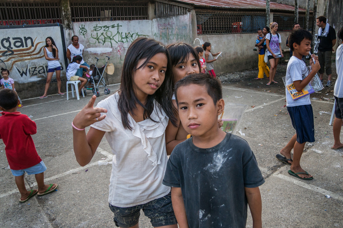 Moalboal, Cebu - Kinder