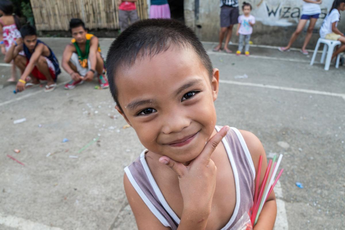 Moalboal, Cebu - little boy