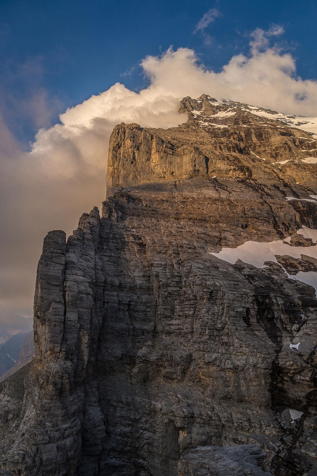 Blick vom Rotstock zur Eiger Nordwand