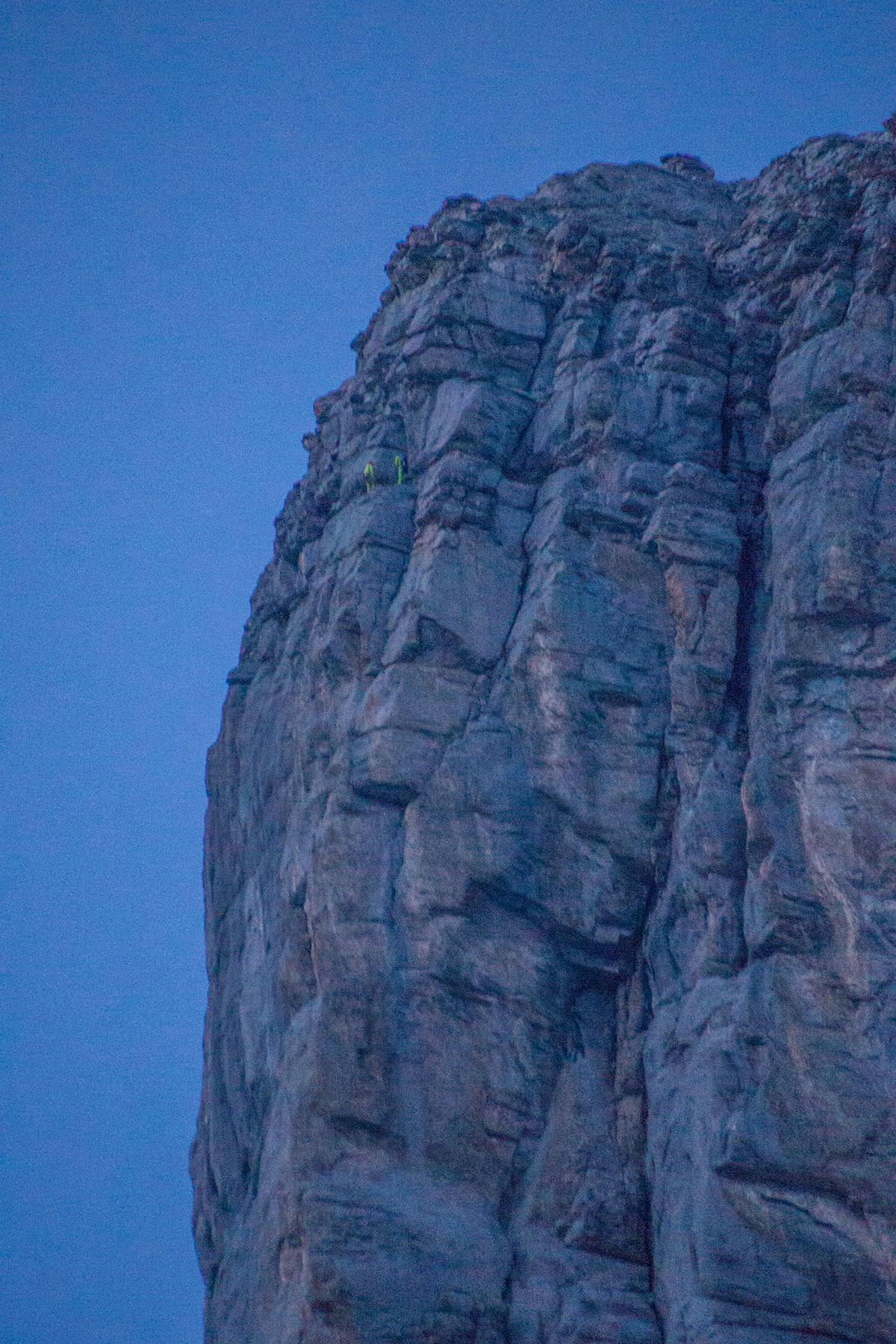Mathias Weck und Felix Mehne am Eiger - Genfer Pfeiler -
