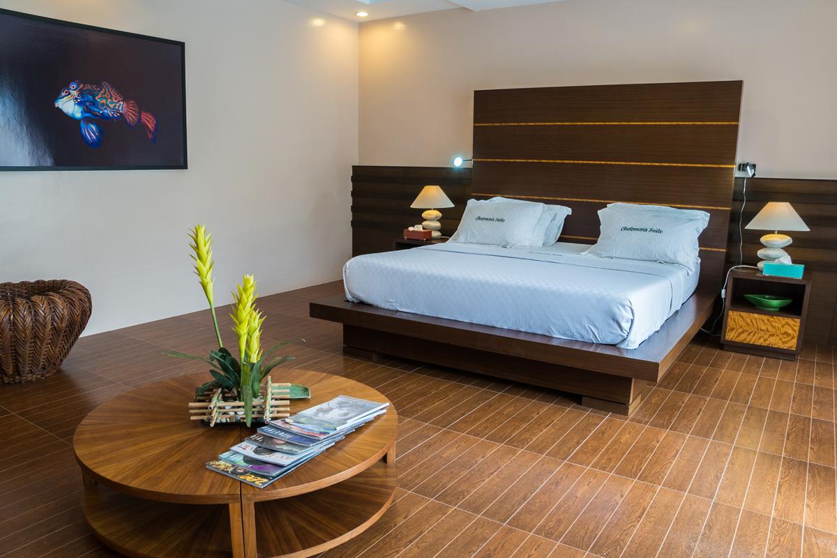 Moalboal, Cebu - Bungalow Schlafzimmer