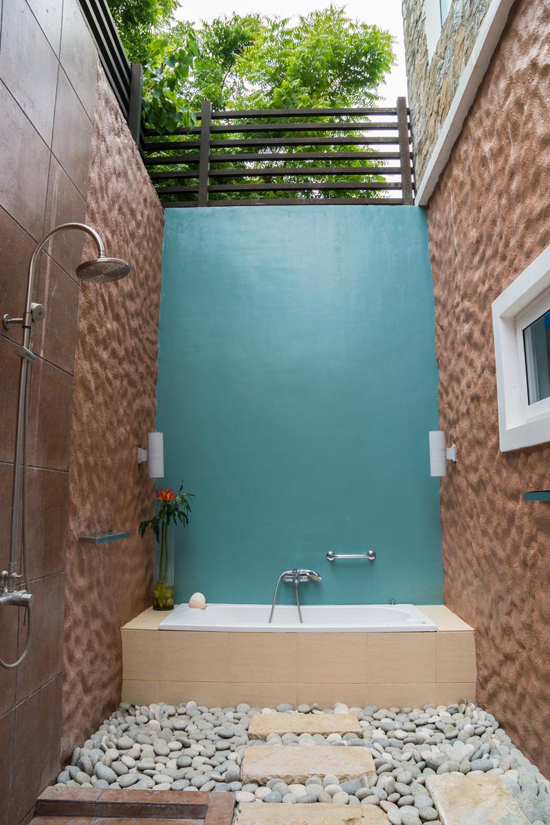 Moalboal, Cebu - Outdoor Dusche