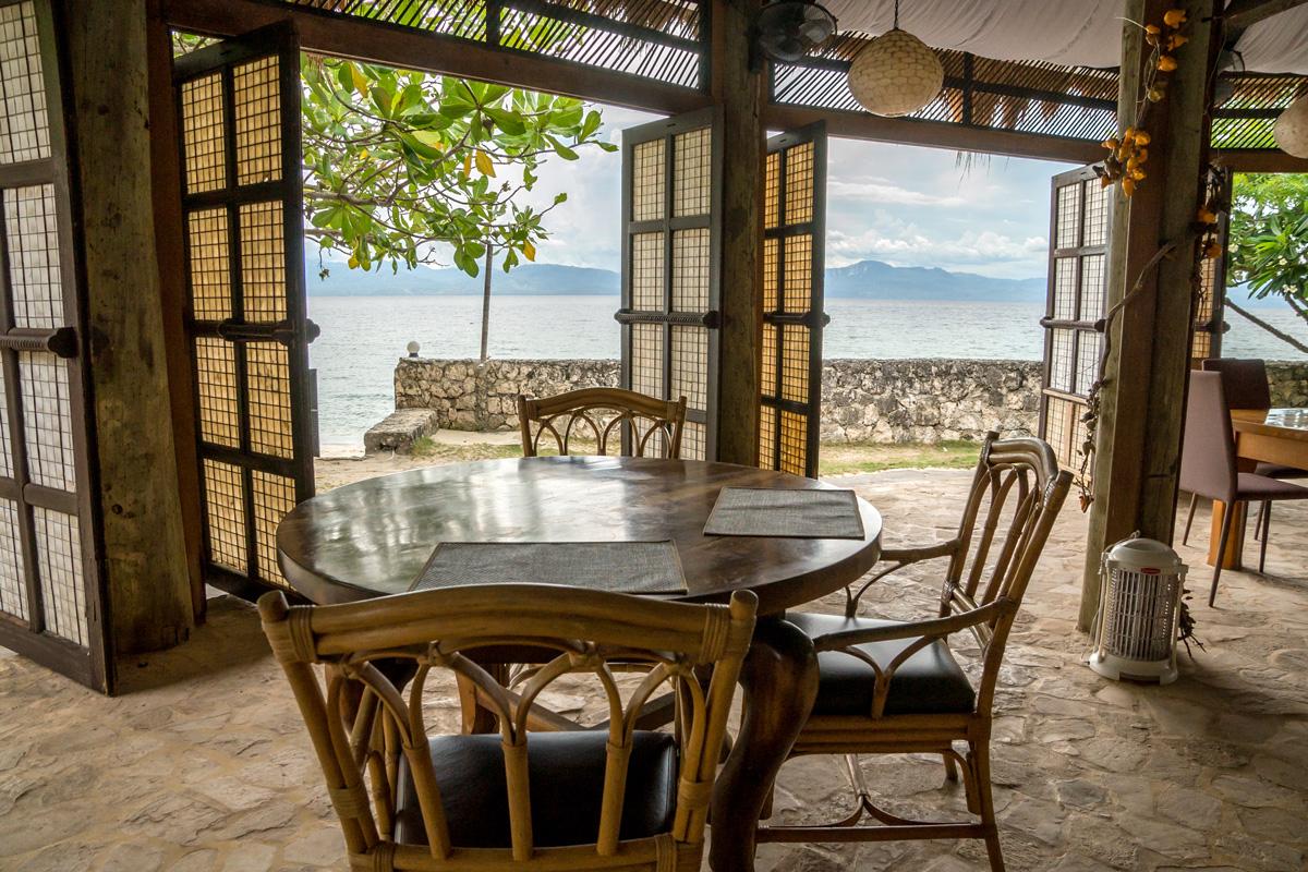 Moalboal, Cebu - Restaurant Terasse