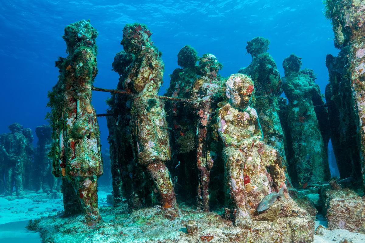 Mexico, Isla Mujeres, Museo Subacuático