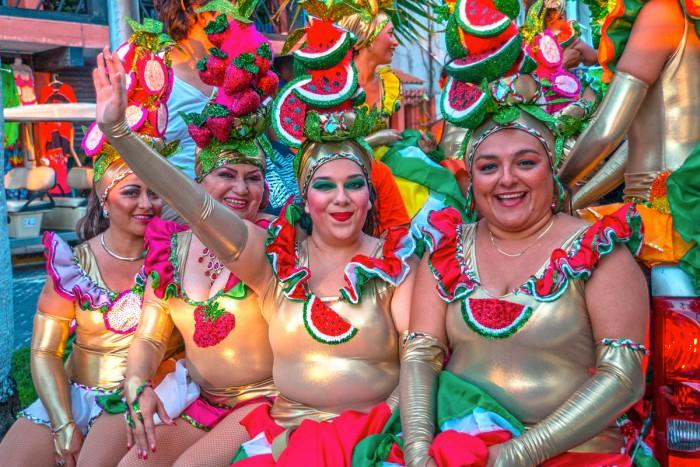 Mexico, Isla Mujeres, Karneval