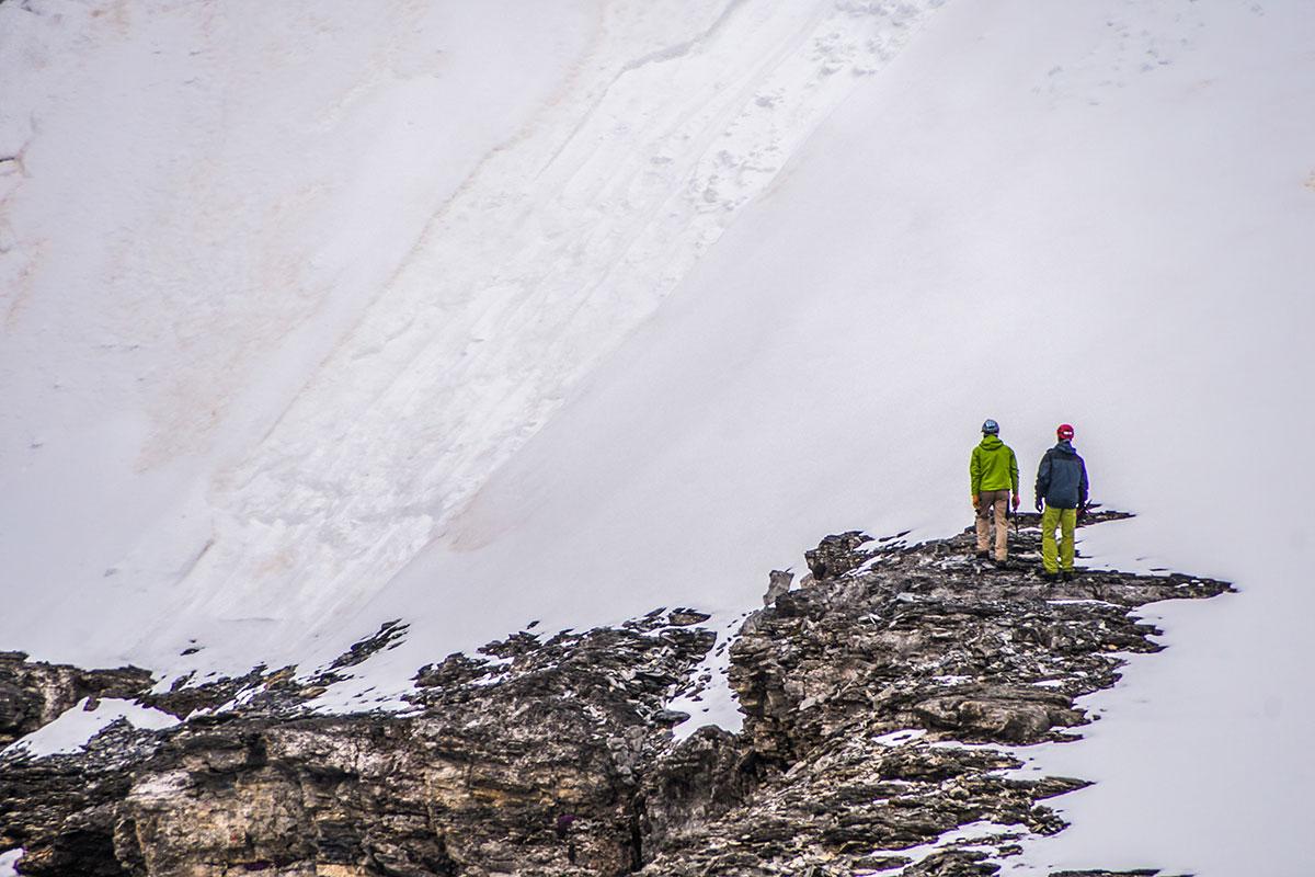 Zustieg zum Genfer Pfeiler - Eiger Nordwand