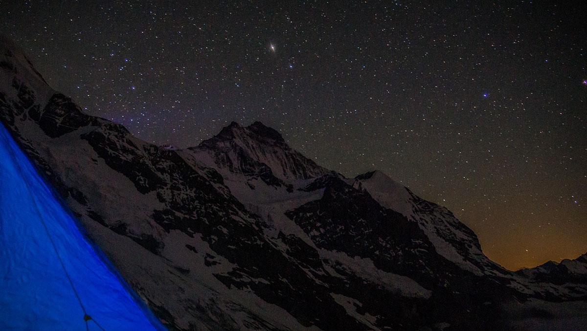 Biwak am Rotstock - Eiger Nordwand