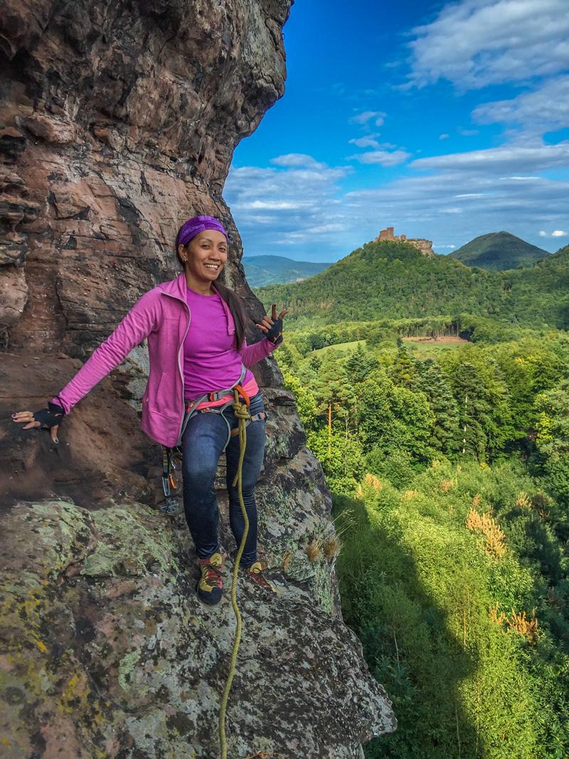 Pfalz - Climbing at Asselstein