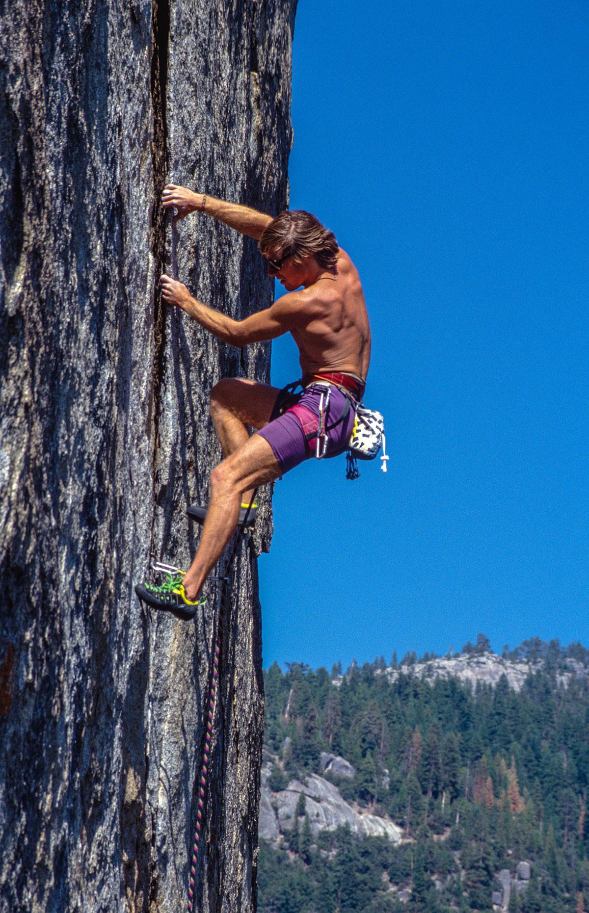 Yosemite - climber