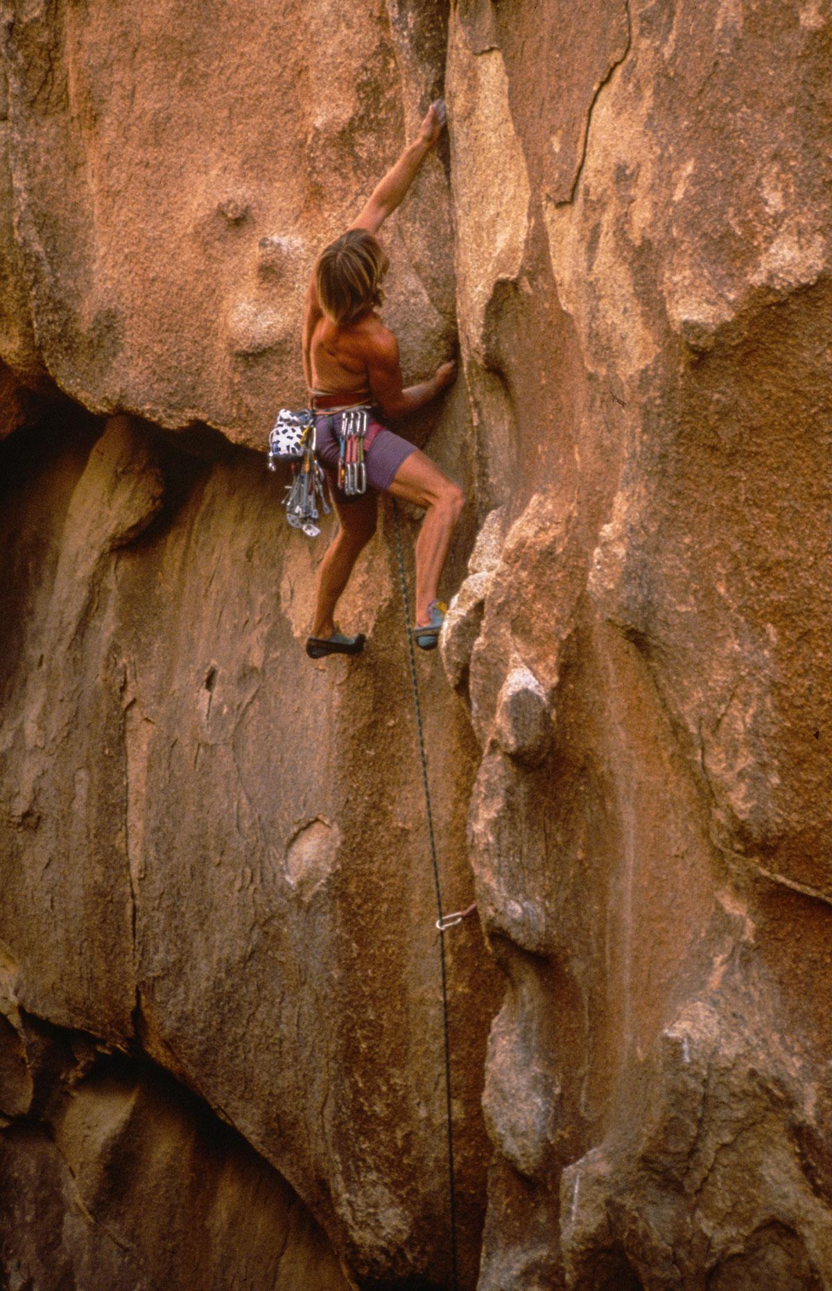 Joshua Tree - climber