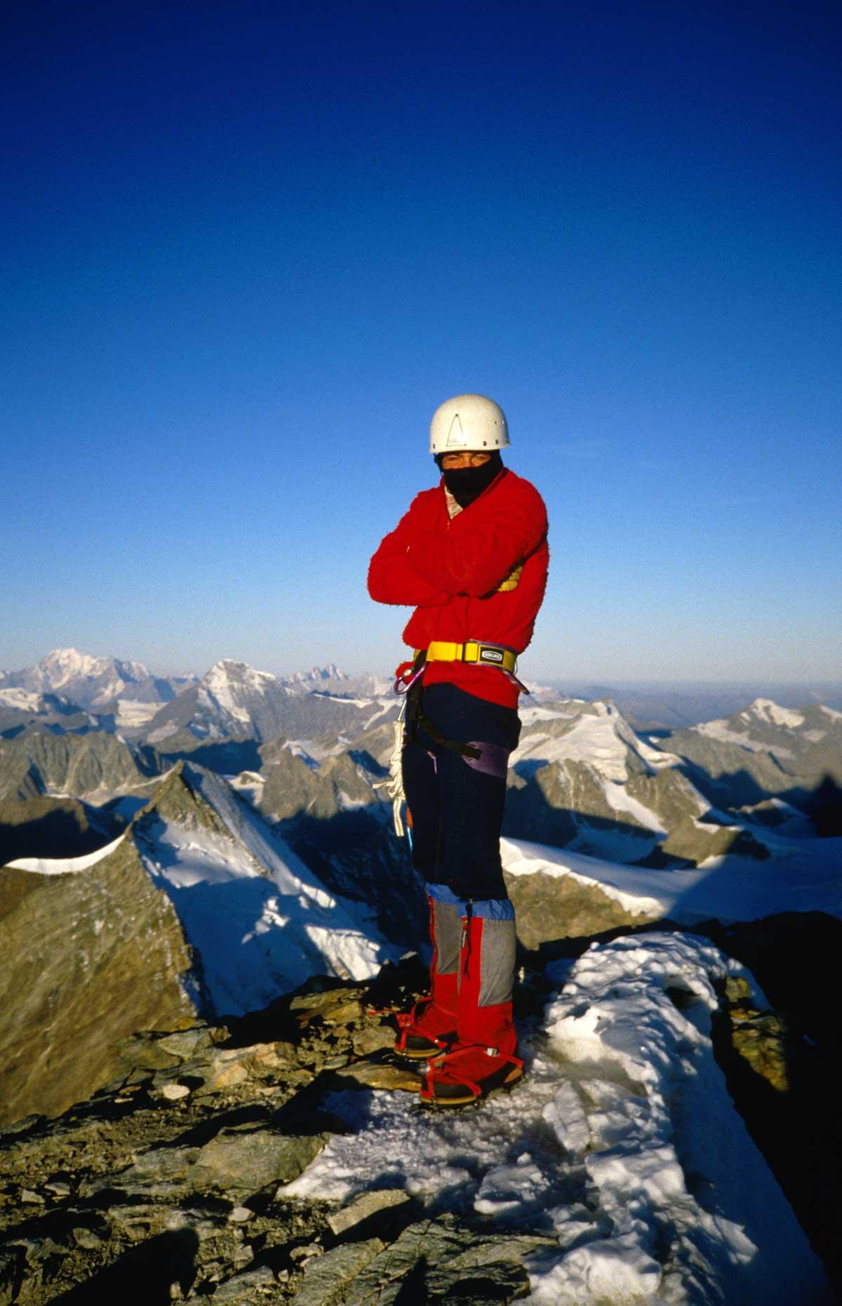 Rollo Steffens am Gipfel des Matterhorns