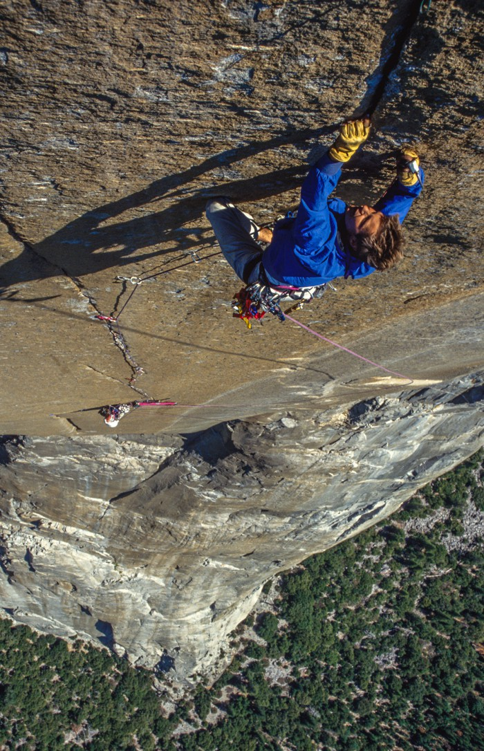 "Yosemite CA - ""Shield"" El Capitan - tripple cracks"