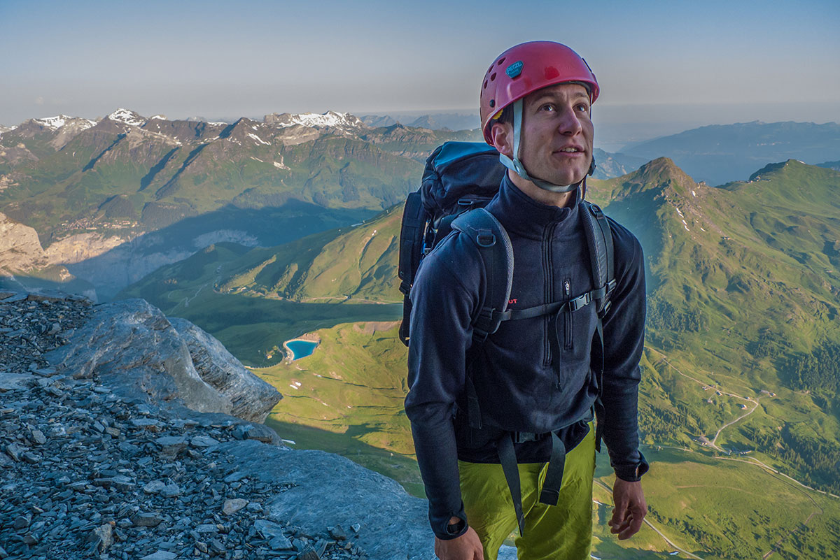 Felix Mehne - ascent to Eiger - Genfer Pfeiler -