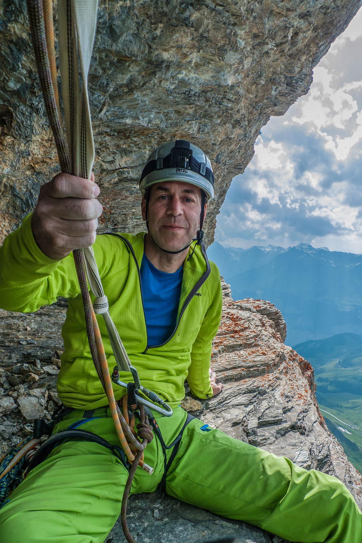 Mathias Weck - Rast am Eiger - Genfer Pfeiler -