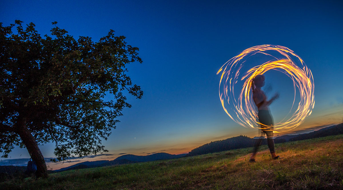 Pfalz, Poi Fire Show