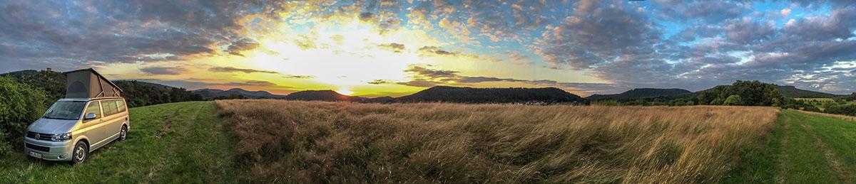 Pfalz, Sonnenuntergang