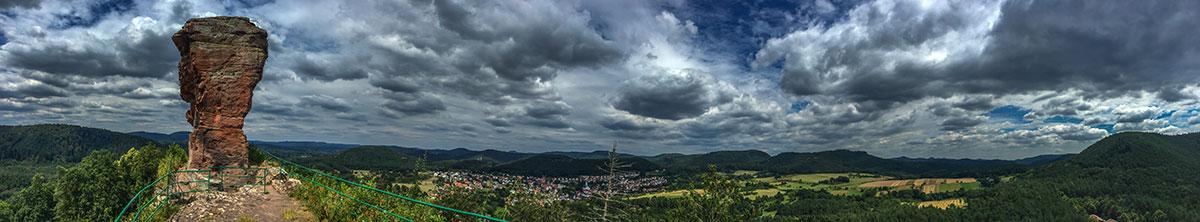 Pfalz, ruin Drachenfels