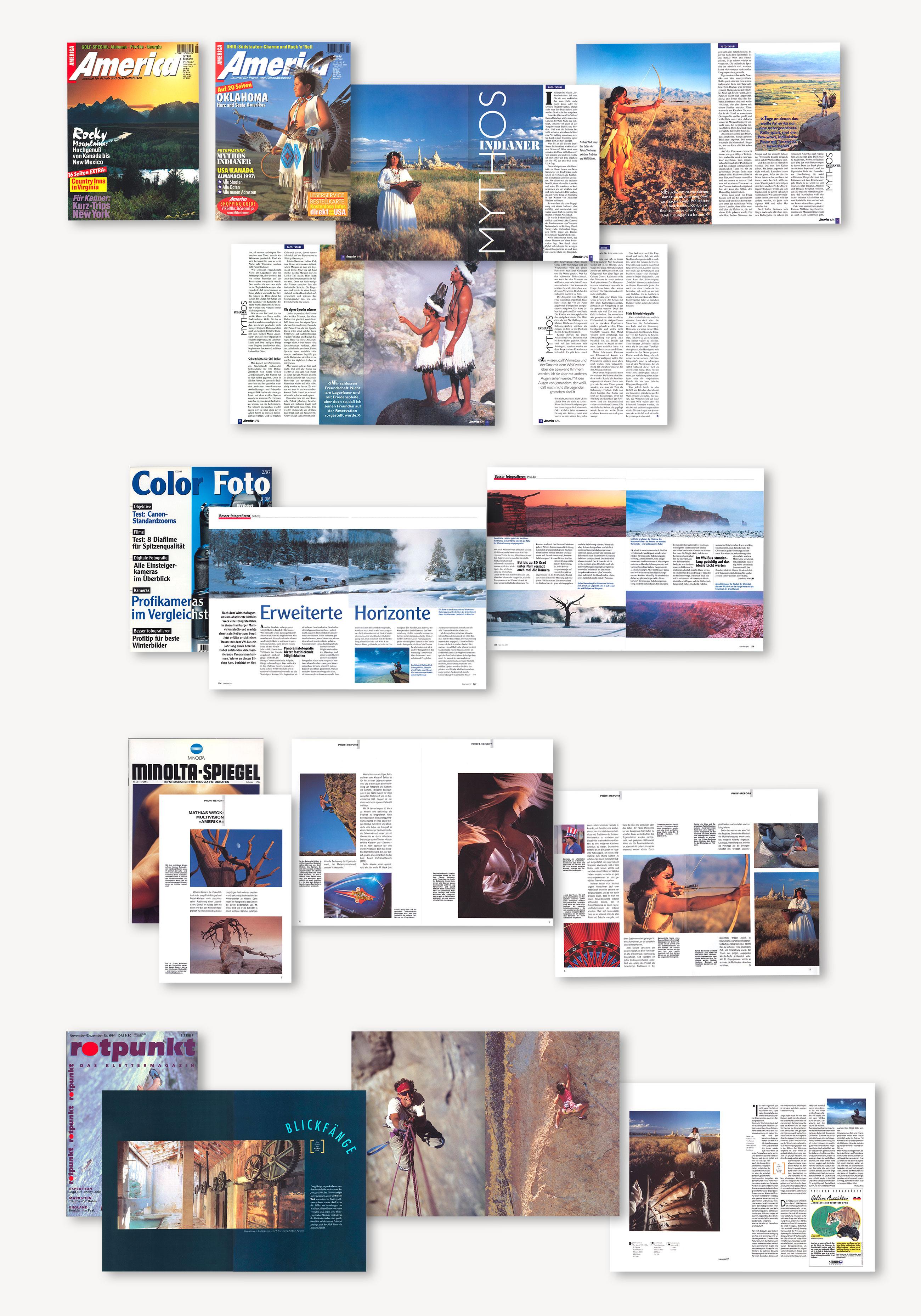 Publikationen von Art Visuell - Mathias Weck