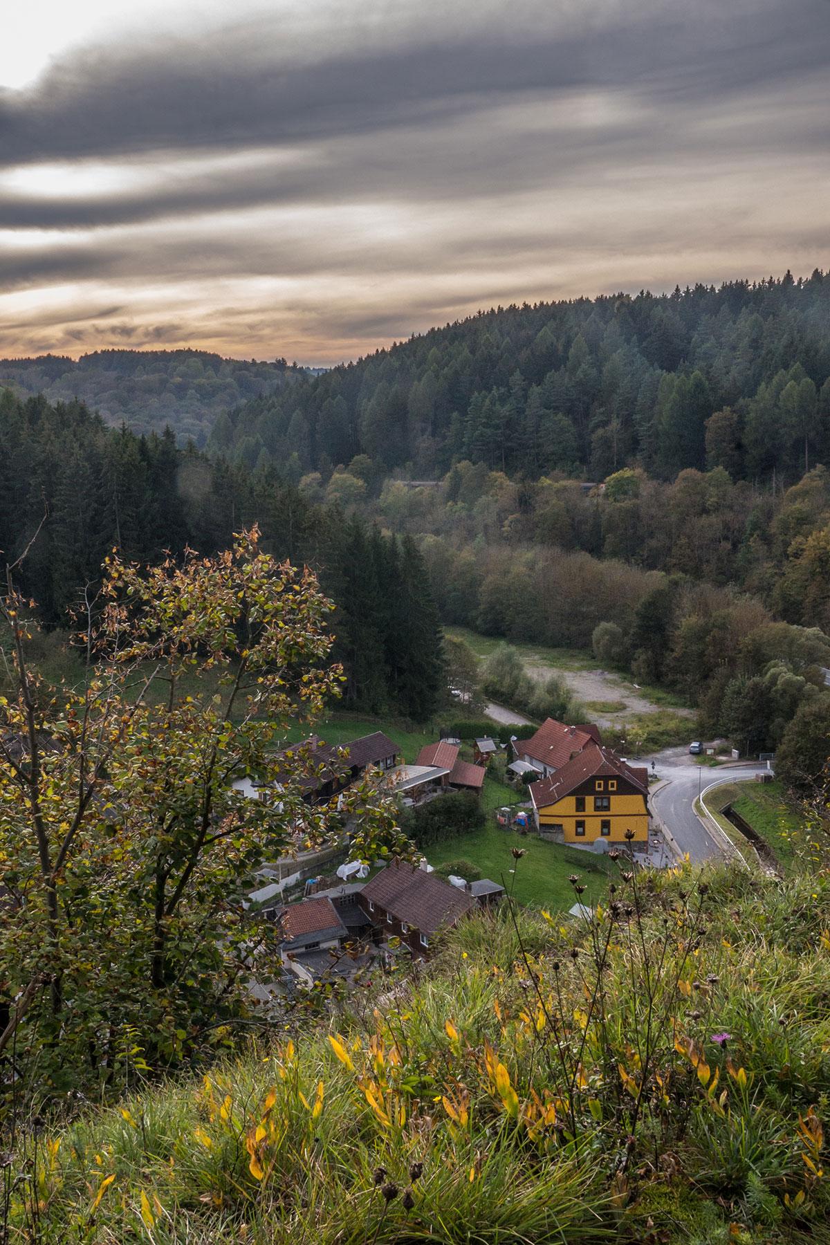 Harz, view from Krockstein