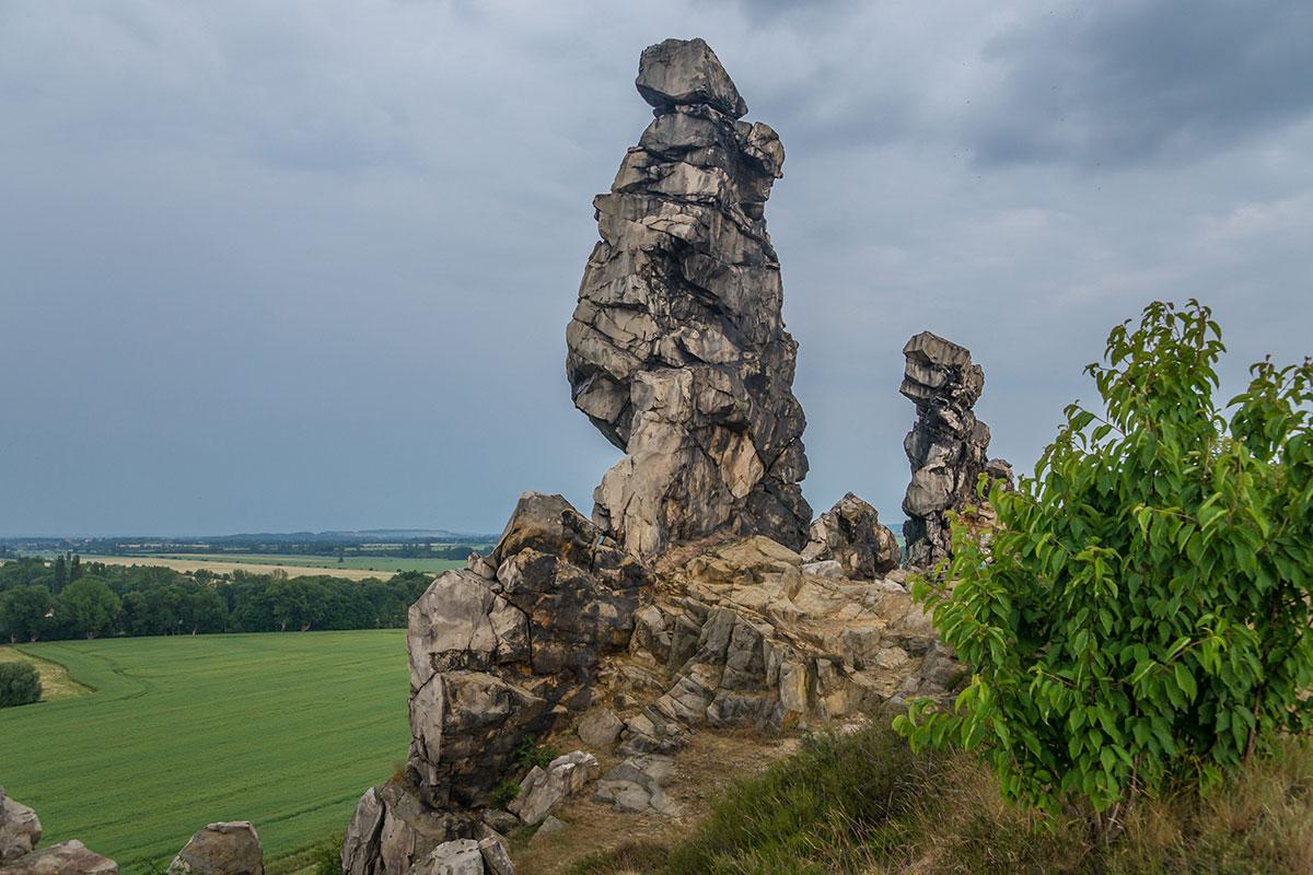 Harz, Teufelsmauer