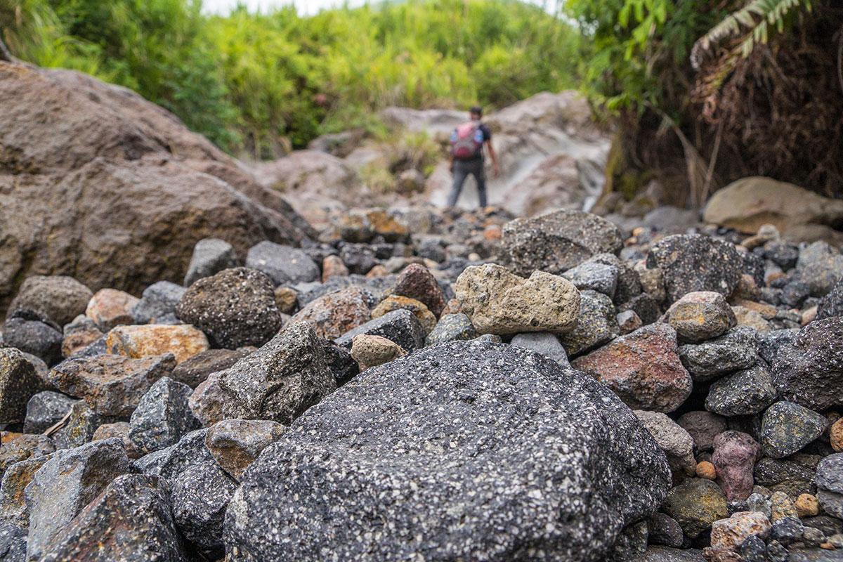 Indonesia, Manado, Lokon Volcano Trekking Tour, Hike up to the Crater