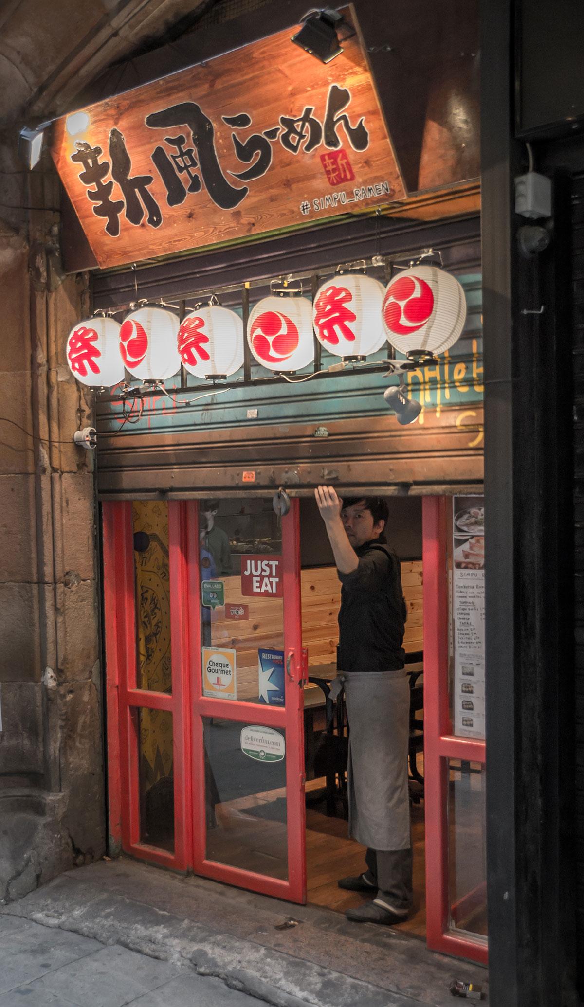 Barcelona - Barri Gotic - Japanisches Restaurant