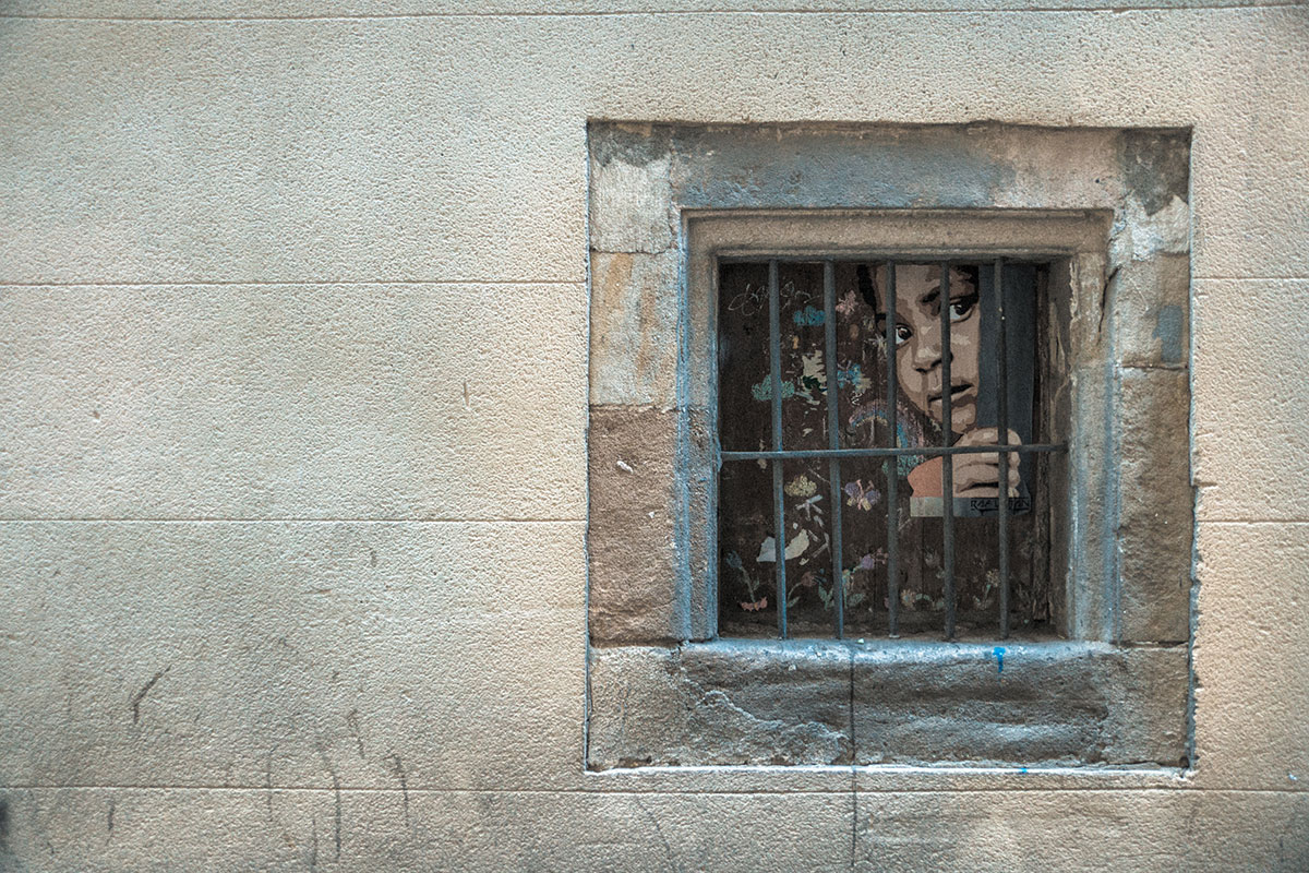 Barcelona - Barri Gotic - Graffiti