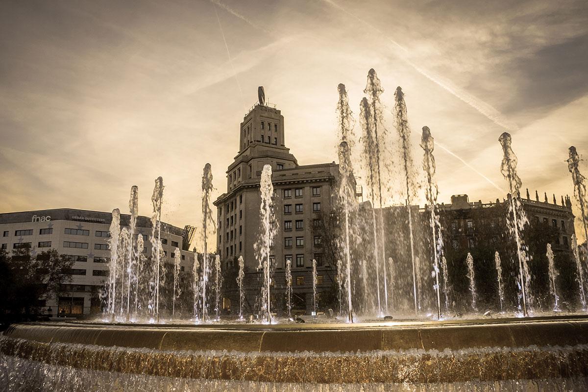 Barcelona - Plaça de Catalunya