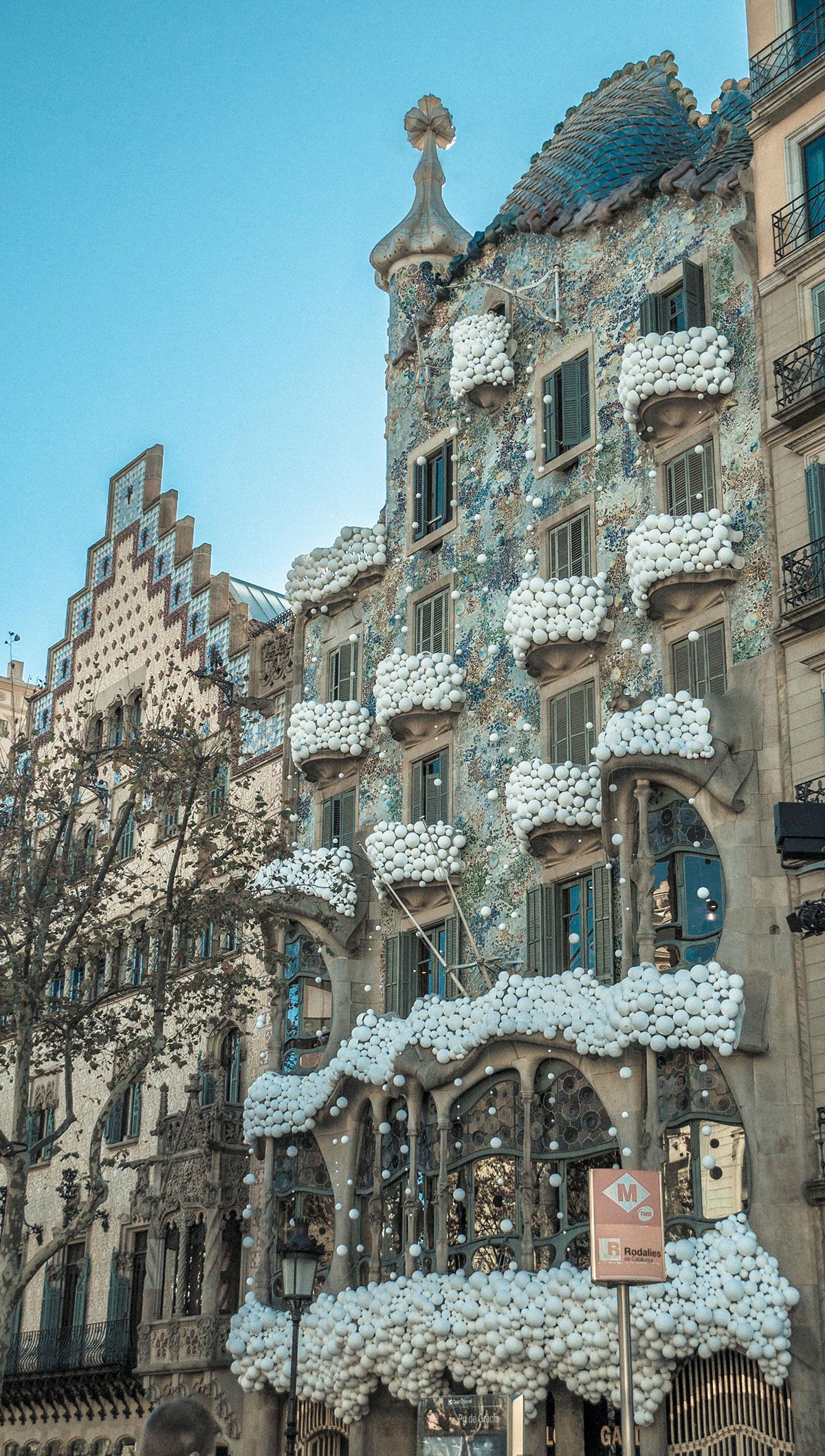 Barcelona - Gaudi - Cassa Batllo