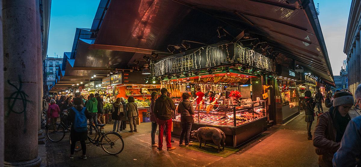 Barcelona - Fleisch Markt