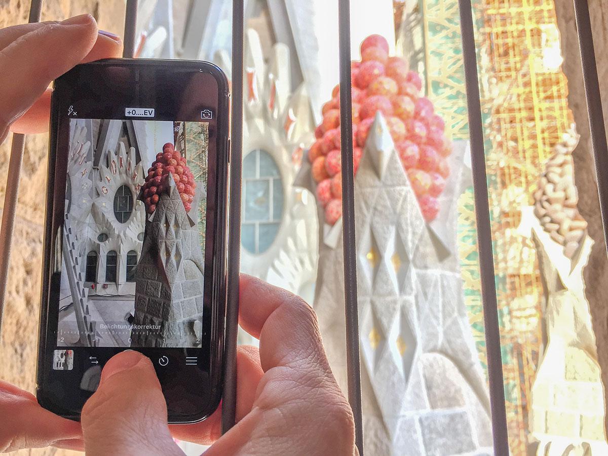 Barcelona - Sagrada Familia - Ausblick aus Passionsseiten Turm