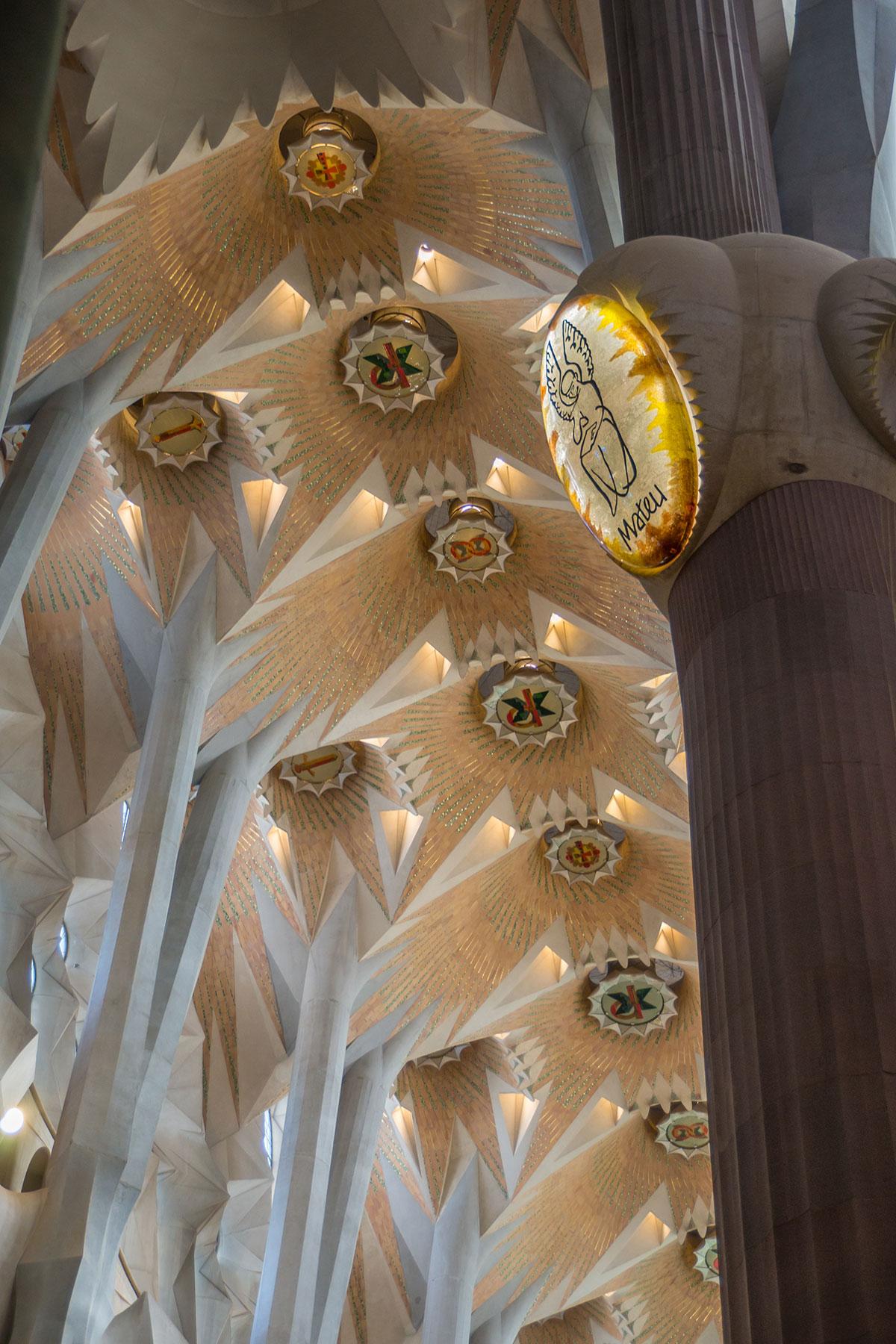 Barcelona - Sagrada Familia - Kirchenschiff