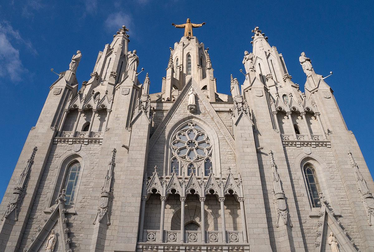Barcelona Tibidabo - Kirche Sagrat Cor