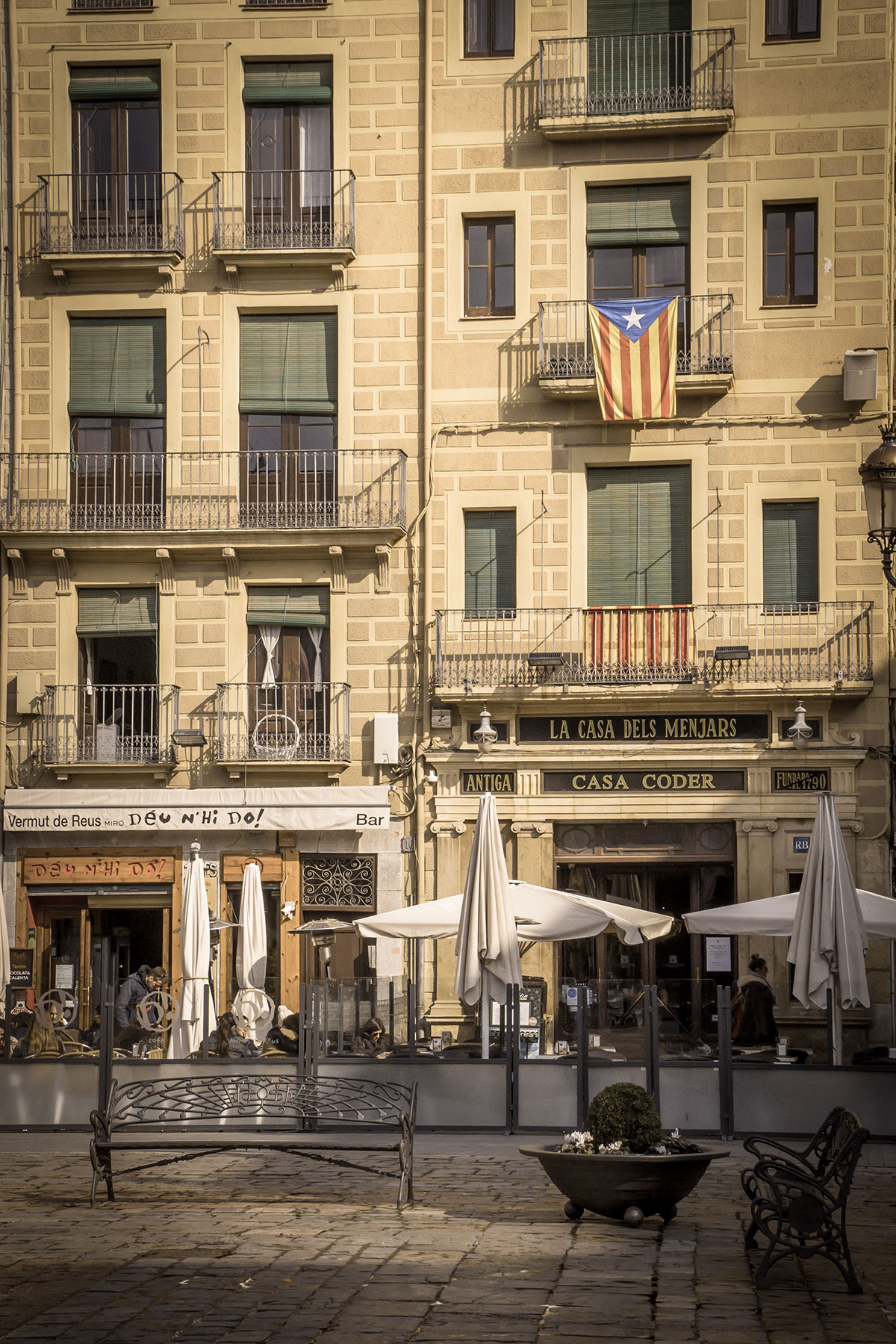 Spanien, Katalonien, Reus, Marktplatz