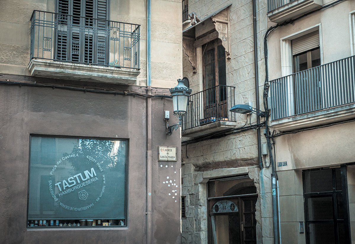 Spanien, Katalonien, Reus, Fassade