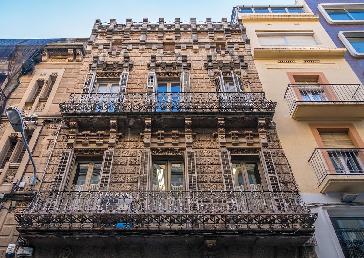 Spanien, Katalonien, Tarragona, Fassade