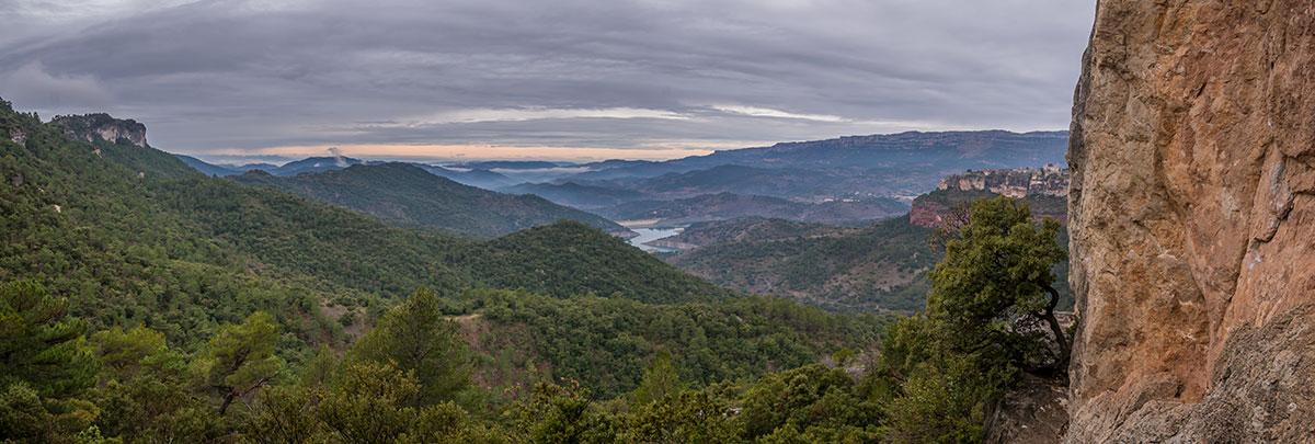 Spain, Catalonia, Region Tarragona, rocks of Arbolí, Sektor