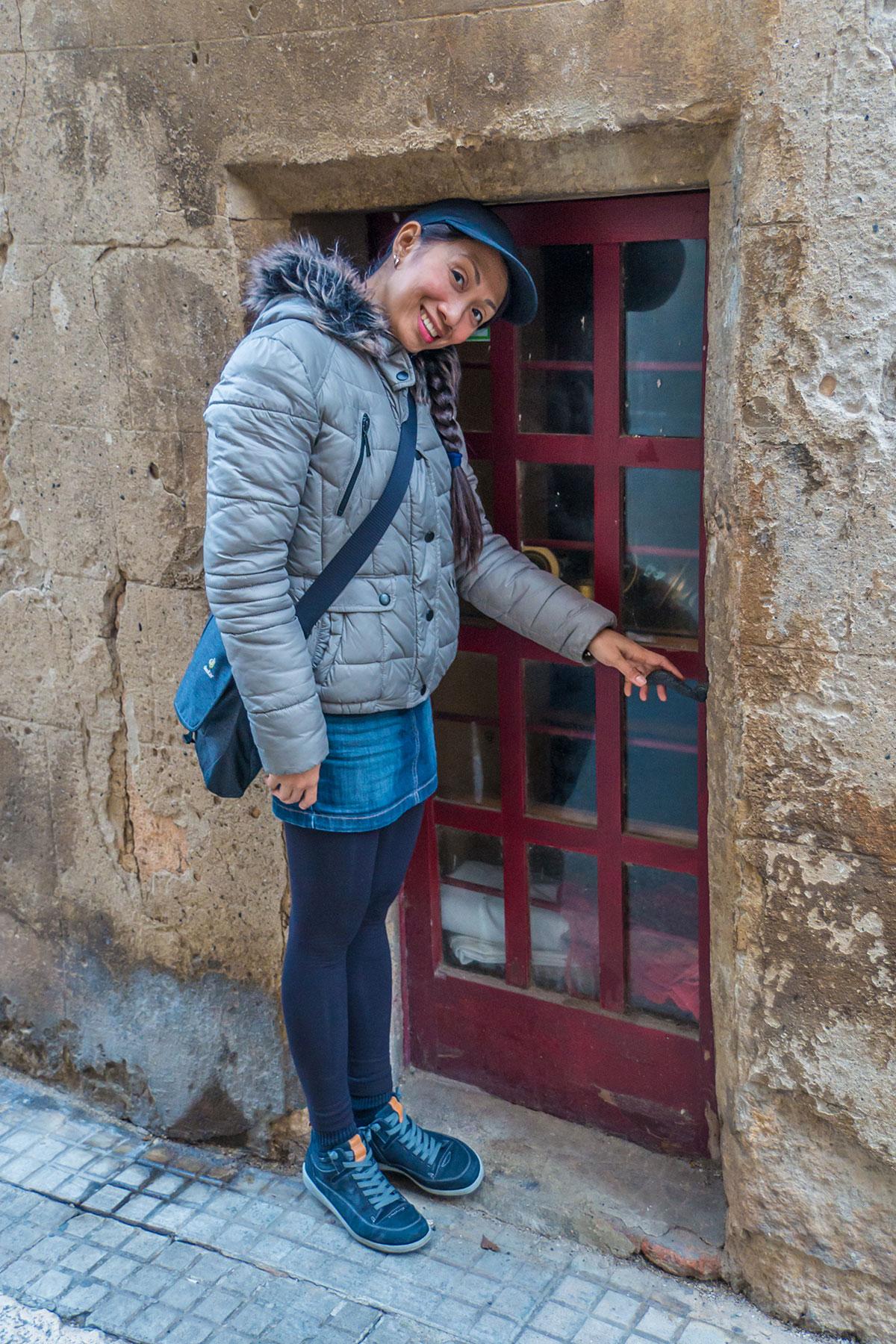 Spanien, Katalonien, Tarragona, kleine Tür